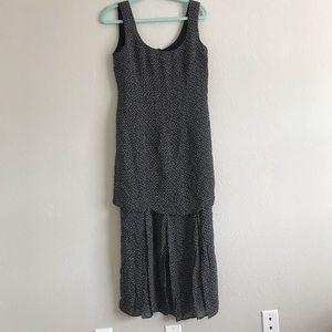 Laundry by Shelli Segal layered daisy midi dress